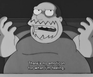 simpsons, emoticon, and the simpsons image
