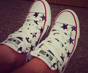 all star, converse, and stars image