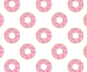 background, donut, and donuts image