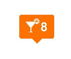 8, drink, and overlays image