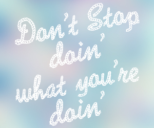 lyric, don't stop, and 5 seconds of summer image