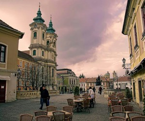 city, hungary, and love it image
