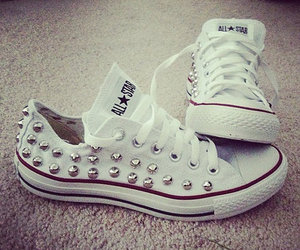 converse, white, and all star image