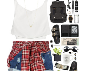casual, clothes, and girl image