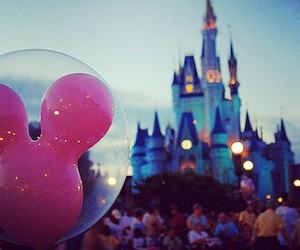 disney, mickey, and castle image
