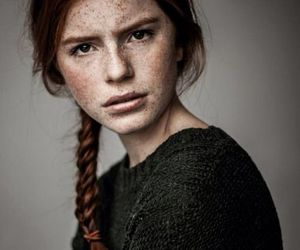 girl, ginger, and photography image