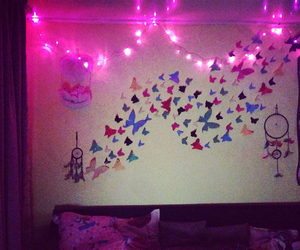 butterflies, diy, and home image