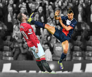 football, manchester united, and soccer image