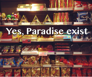 candy, paradise, and chocolate image