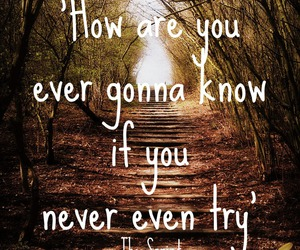 don't give up, hall of fame, and Lyrics image