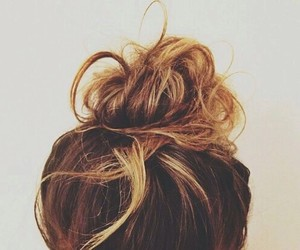 hair, girly, and style image