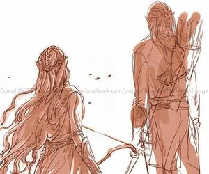 Legolas, tauriel, and elves image