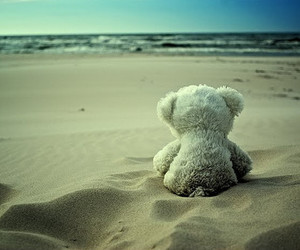 loneliness and teddy image