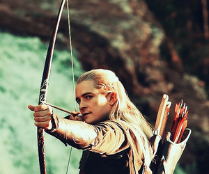 Legolas, elf, and hobbit image