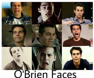 dylan o'brien, face, and teen wolf image