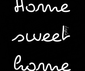 black and white, family, and home image