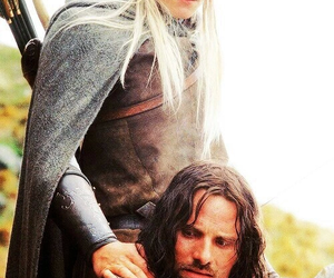 Legolas, aragorn, and lord of the rings image