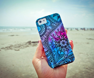 beach, case, and iphone image