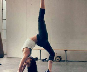 girl, fitness, and sport image