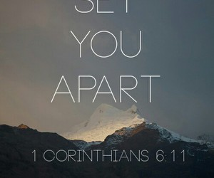 apart, love, and bible image