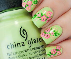 beauty, colour, and nail paint image