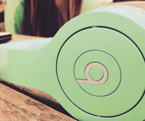 beats, green, and mint green image