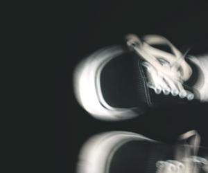 artsy, black, and converse image