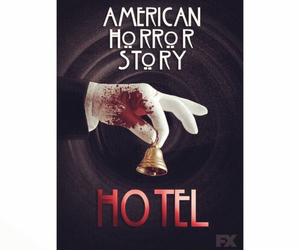 excited, ahs, and hotel image