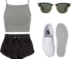 fashion, Polyvore, and vans image