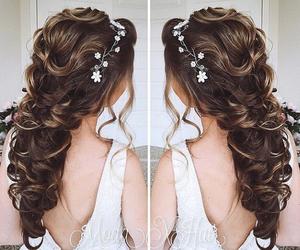 braid, long hair, and pretty image