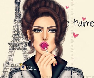 paris, girly_m, and lollipop image