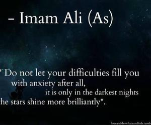 quote, peace, and imam ali image