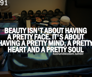 beauty, pretty, and quote image