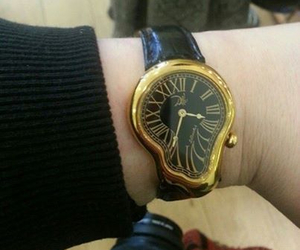 watch, dali, and art image