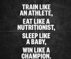 champion, sleep, and train image