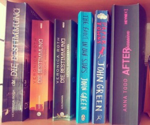 books, divergent, and after image