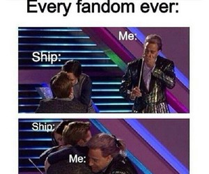fandom, funny, and ship image