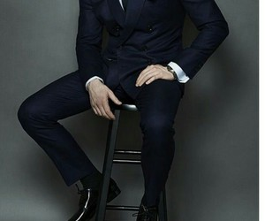 fashion, gentleman, and men style image