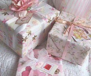 pink, sweet, and present image