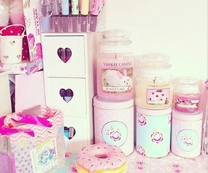 pink, girly, and candle image