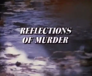 murder, reflection, and grunge image