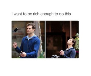rich, funny, and Jamie Dornan image