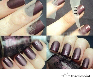 fingers and nail art image