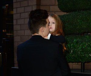 brother and sister, brooklyn beckham, and harper beckham image