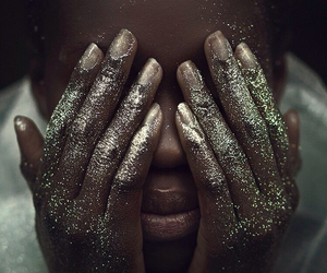 glitter, gold, and beauty image