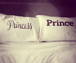 princess, prince, and love image