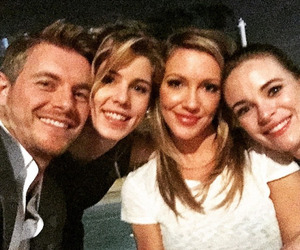 danielle panabaker, katie cassidy, and emily bett rickards image