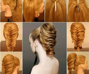 diy, hair, and party image