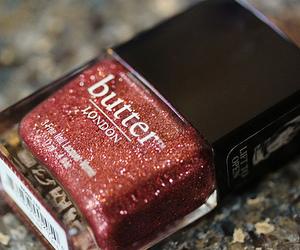 nails, nail polish, and butter image