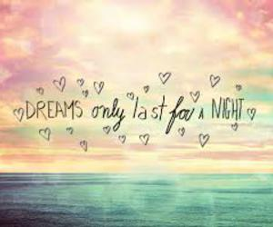 Dream, night, and quote image